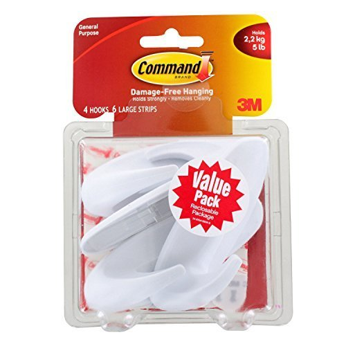 Command Designer Hooks Value Pack, 17083VP-WM