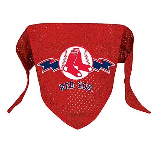 hunter-mfg-boston-red-sox-mesh-dog-bandana-large