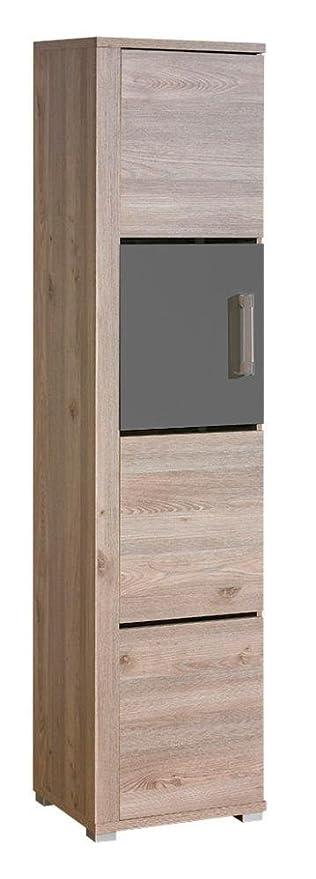 della cucina armadio, colore: rovere grigio 198 x 49 x 40 cm: Amazon ...