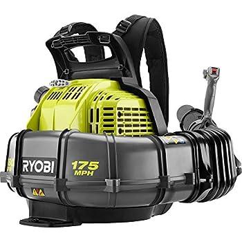 Amazon Com Ryobi 175 Mph 760 Cfm 38cc Gas Backpack Leaf