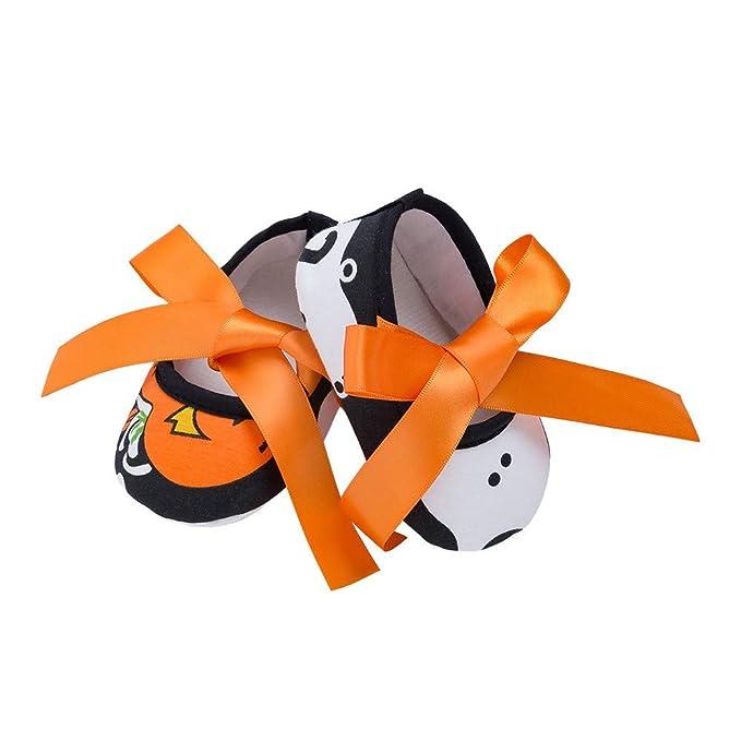 ❤ Halloween Zapato Cute Baby Niña Antideslizante Recién Nacido Bebé Niño Absolute: Amazon.es: Ropa y accesorios