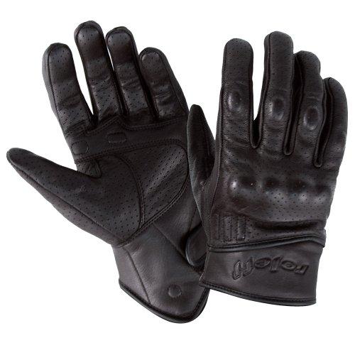 Roleff Racewear Lederhandschuhe, Schwarz, XS