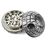 Formax420 Death Star Grinder Star War Round Grinder 3 Pieces Spice Mill 50mm