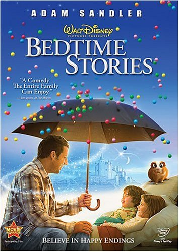 DVD : Bedtime Stories (2008) (Subtitled, Dubbed, Dolby, AC-3, Widescreen)