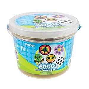 Perler 42766 Beads 6,000 Count Bucket-Multi Mix
