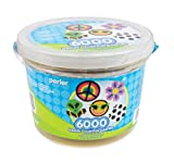 Arts & Crafts : Perler Beads 6,000 Count Bucket-Multi Mix