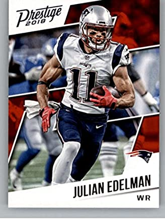 4d35df1d1d4 2018 Prestige NFL  77 Julian Edelman New England Patriots Panini Football  Card
