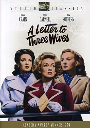 Amazon.com: A Letter to Three Wives: Jeanne Crain, Linda Darnell
