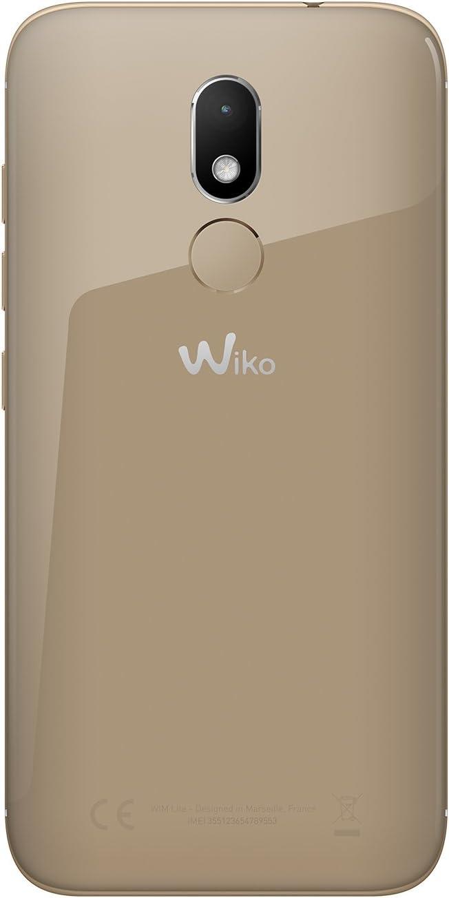 Wiko WIM Lite SIM Doble 4G 32GB Oro: Amazon.es: Electrónica