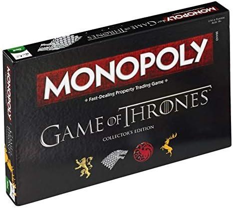 Juego de Tronos - Monopoly versión EN INGLÉS (Talla Única/Game Of Thrones): Amazon.es: Ropa y accesorios
