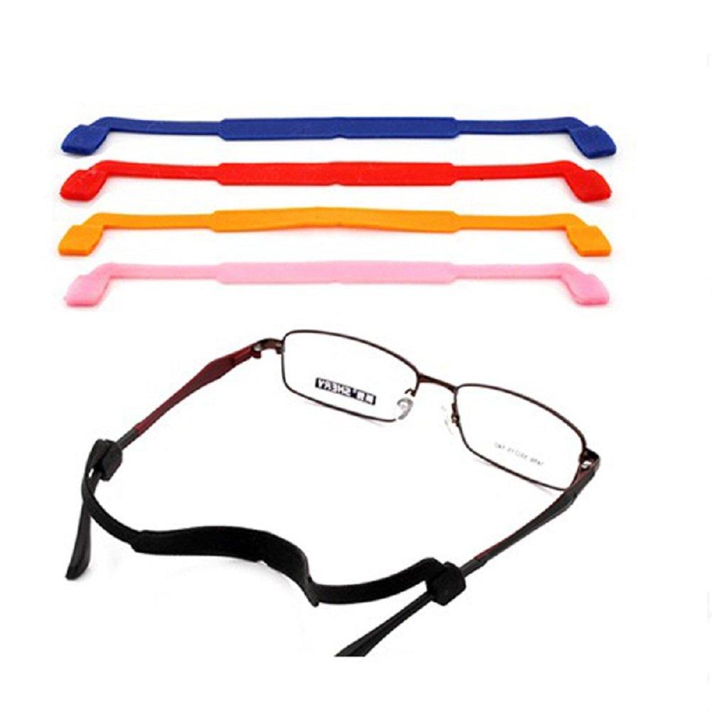 Lot de 5 cordons à lunettes de couleurs différentes-Antidérapants-ROSENICE