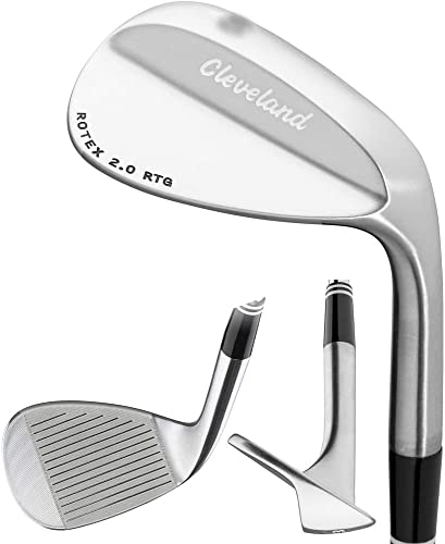 Cleveland Golf- 588 Forged RTG Wedge 60 Wide Sole
