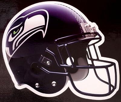 """NFL Officially Licensed Helmet Die-Cut 6"""" Window Decal (Seattle Seahawks)"""