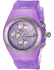 Technomarine Womens Cruise Quartz Stainless Steel and Silicone Casual Watch, Color:Purple (Model: TM-115360)
