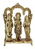 Statuestudio Hindu Deity God Lord Rama Darbar Statue