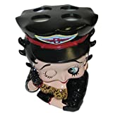 Betty Boop Toothbrush Holder - Motorcycle Biker