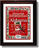 Framed Alabama Football Special Issue Kenny Stabler Sports Illustrated Autograph Print