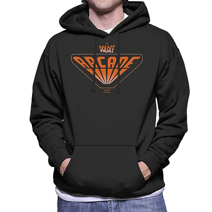 Cloud City 7 The Palace Arcade Hawkins Indiana Stranger Things Mens Hooded Sweatshirt: Amazon.es: Ropa y accesorios