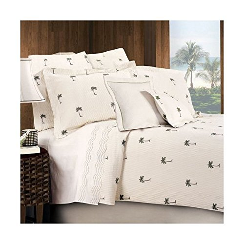Lamont Limited The Palm Coverlet, Twin
