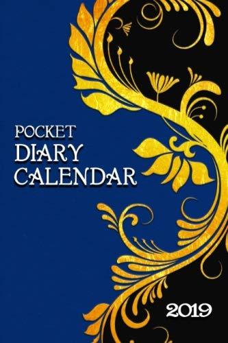 Pocket Diary Calendar: Gold Scroll
