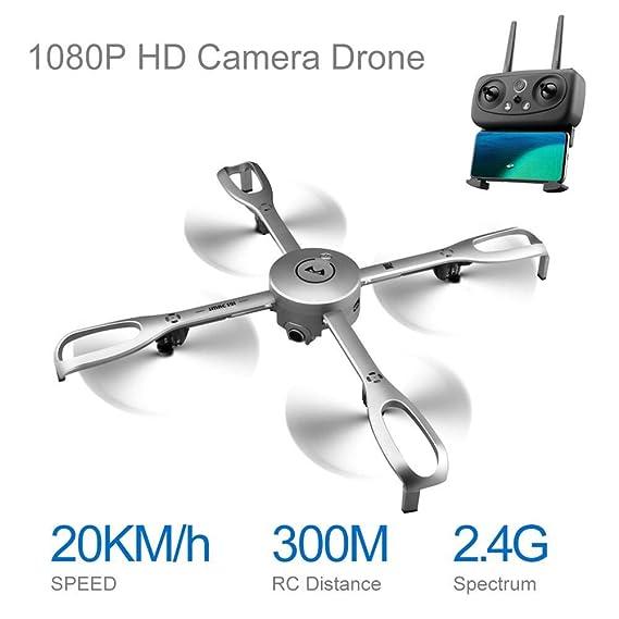liuxi - Avión teledirigido con función de GPS (transmisión de imágenes a Tiempo Real, con función de Vuelo por radiofrecuencia): Amazon.es: Hogar