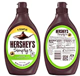 Hershey's Simply 5, Gluten Free Chocolate Syrup. Pack of 3, Total 1.41 Liters