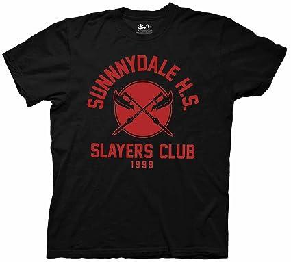 0ce9c6a904873 Buffy the Vampire Slayer Sunnydale HS Slayer's Club Mens T-Shirt