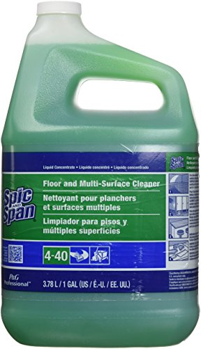 Spic and Span Professional Floor and Multi-Surface Cleaner, 1 Gallon (Case of 3) (Liquid Cleaner Span Floor)