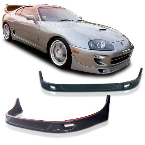 Toyota Supra Mark IV Mark IV TRD Style Urethane Front Bumper Lip Chin Spoiler For 93-99 Models