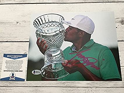 7066f8732eb Image Unavailable. Image not available for. Color  Tony Finau Signed ...