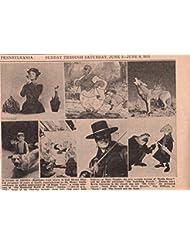 Disney Mary Poppins Zorro Guy Williams original clipping magazine photo 1pg 8x10 #R1529
