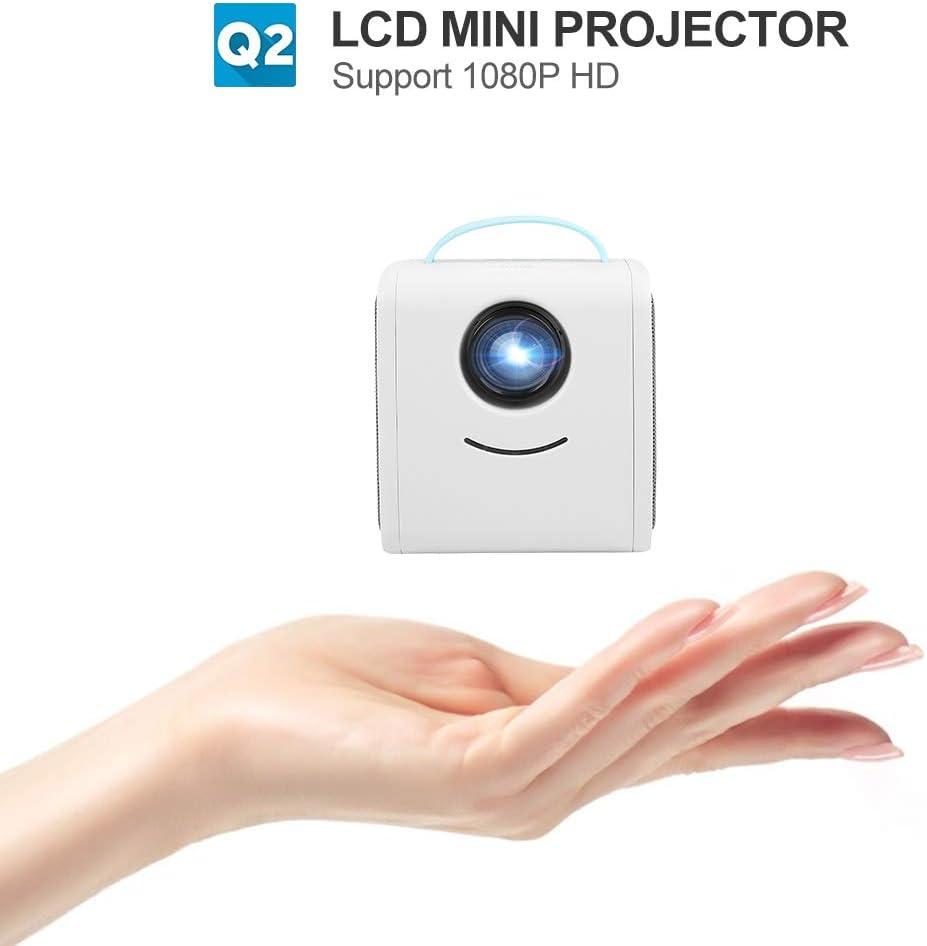 Tonysa Mini LED Proyector para Educación Infantil con Efecto de ...