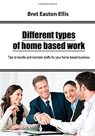 book cover of Different types of home based work