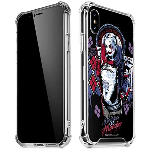 pretty nice 3805d 62966 Amazon.com: Skinit Harley Quinn Daddys Little Monster iPhone X/XS ...