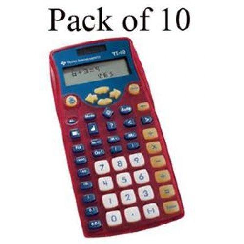 TEXAS INSTRUMENTS #10/TKT/2L1/A TI-10 Scientific Calculator - Teacher Kit