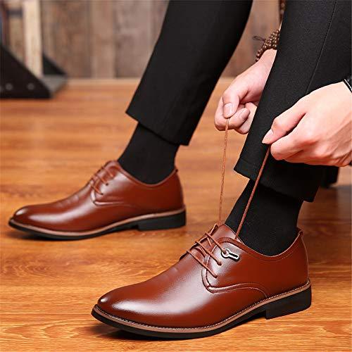 Formal Sólido Vestir Moda top Shoes Zapatos Lace De Cómoda Oxford Los Hombres Color Marrón Up Mxl Low Classic gdOax7g