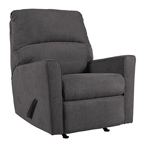 Ashley Furniture Signature Design - Alenya Contemporary Rocker Recliner Chair - Manual Reclining - ()