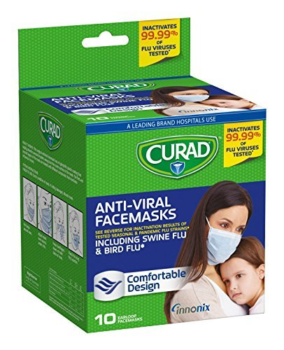 Curad Antiviral Face Mask - Pack of 3 by Curad C