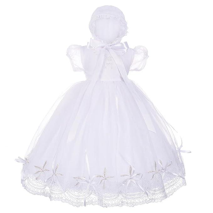 f399bd2ec Lito Angels - Ropa de bautizo - para bebé niña blanco blanco 18 meses:  Amazon.es: Ropa y accesorios