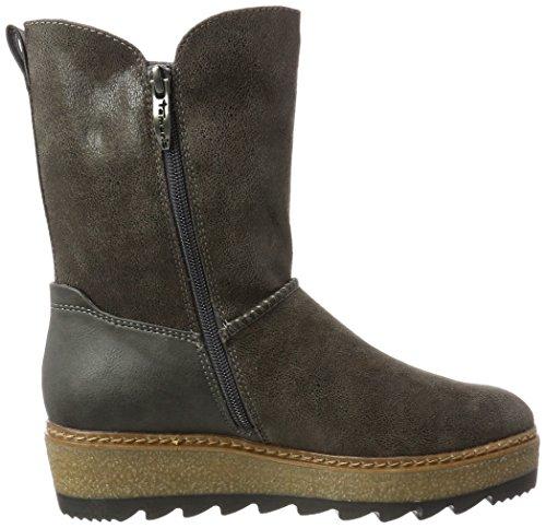 26442 graphite Boots Women''s Tamaris Grey 5wxOqB6