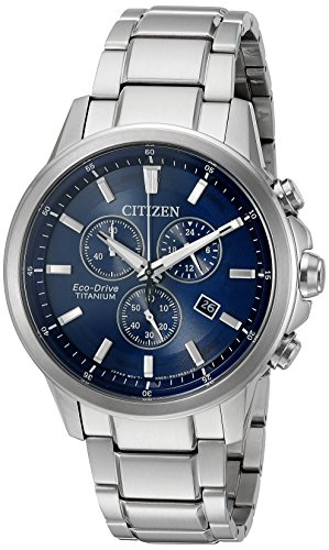 Citizen-Eco-Drive-Mens-Titanium-Quartz-Casual-Watch-Color-Silver-Toned-Model-AT2340-56L