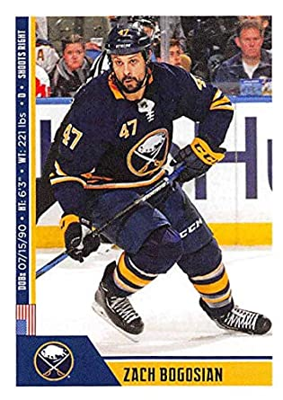 be2fdb9dd Amazon.com  2018-19 Panini NHL Stickers Hockey  33 Zach Bogosian ...