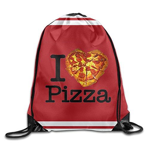 Acosoy I Love Pizza Drawstring - Cheap Oakley Jackets