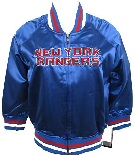 ab979b256 New York Rangers Women s Classic Satin Baseball Collar Jacket - by Alyssa M ..
