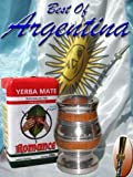 ARGENTINA MATE KIT: Southamerican wood with alluminum base + Metal Nickel straw (w/filter) + Yerba Mate Herb Tea