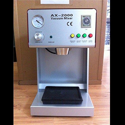 zgood 1 pieza 150 W nuevo CE aprobado mezclador de vacío Dental Equipo de laboratorio ax-2000b: Amazon.es: Industria, empresas y ciencia