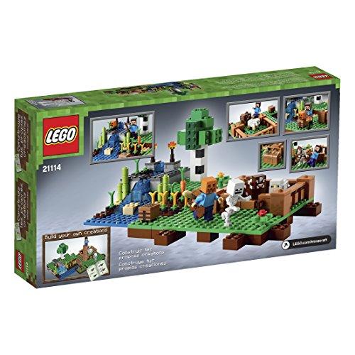 Amazon.com: LEGO Minecraft 21114 The Farm: Toys & Games