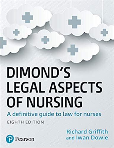Dimond's Legal Aspects of Nursing 8th Edition