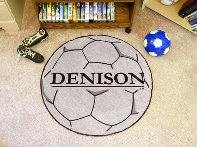 Denison University Soccer Ball Rug