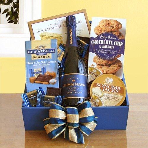 Napa Baskets Valley (Magical Mumm's Napa Valley Food Gift Basket)